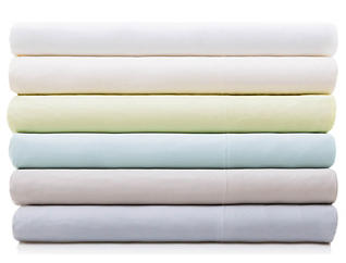 Malouf Bamboo Rayon Ivory Queen Pillowcase Set of 2, , large