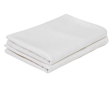 Malouf Bamboo Rayon White Queen Pillowcase Set of 2, , large