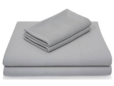 Malouf Bamboo Rayon Split King Sheet Set, Ash, , large