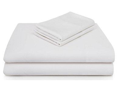 Malouf Bamboo Rayon Queen Sheet Set, White, , large