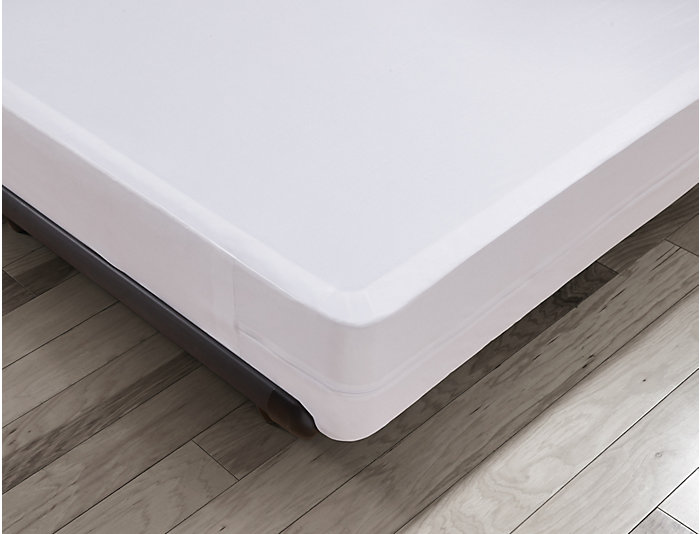 Malouf Full Bed Bug Box Spring Protector, , large