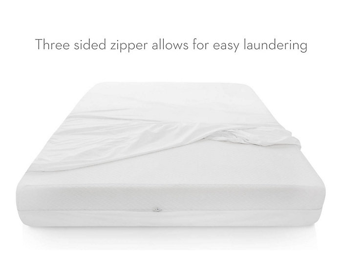 Malouf Queen Bed Bug Box Spring Protector, , large
