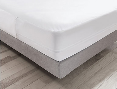 Malouf Queen LT Bed Bug Mattress Protector, , large