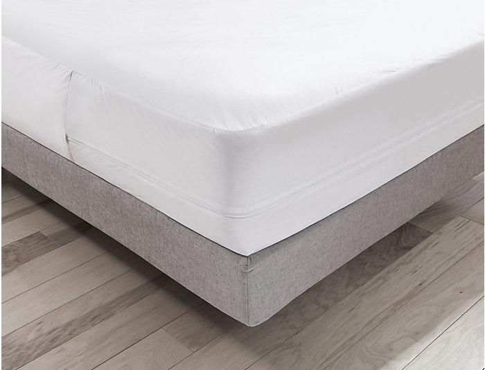 Malouf Twin X-Long Bed Bug Mattress Protector, , large
