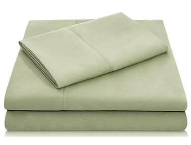 Malouf Microfiber Twin XL Sheet Set, Fern, , large