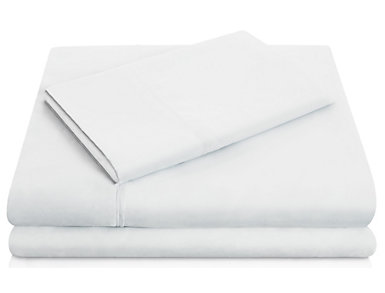 Malouf Microfiber Queen Sheet Set, Ivory, , large