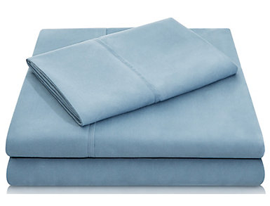Malouf Microfiber Full Sheet Set, Pacific Blue, , large
