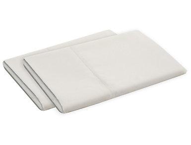 Malouf Microfiber King Pillowcase Set of 2, Driftwood, , large