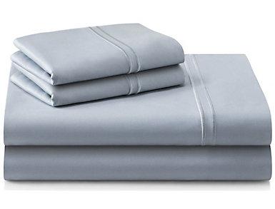 Malouf Supima Cotton King Sheet Set, Smoke, , large