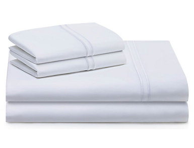 Malouf Supima Cotton Queen Sheet Set, White, , large
