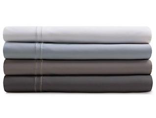 Malouf Supima Cotton White Split California King Sheet Set, , large