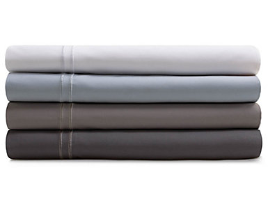 Malouf Supima Cotton Charcoal King Pillowcase Set of 2, , large
