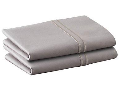 Malouf Supima Cotton Asg Queen Pillowcase Set of 2, , large