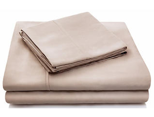Tencel Q Sheet Set-Ecru, , large
