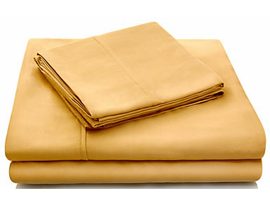 Malouf Tencel Harvest Split California King Sheet Set, , large