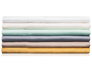 Malouf Tencel Ecru Queen Pillowcase Set of 2, , large