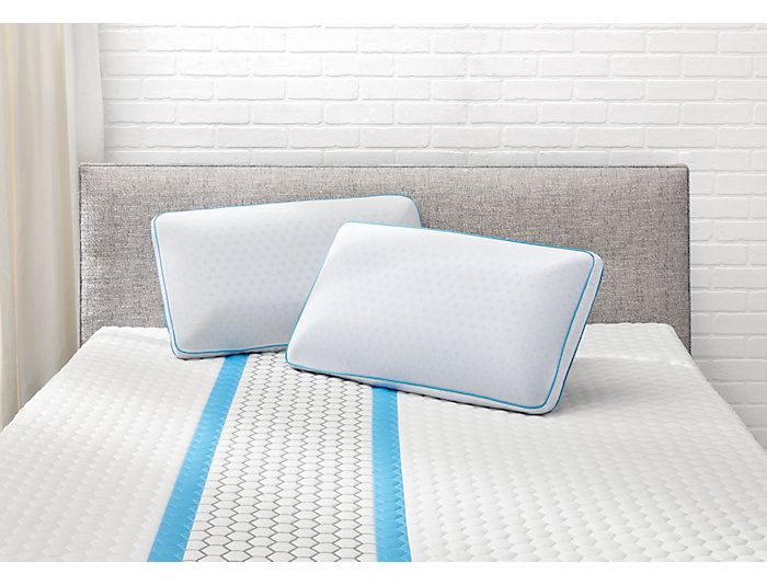 Adrenaline Queen Mid Loft Zen Performance Pillow
