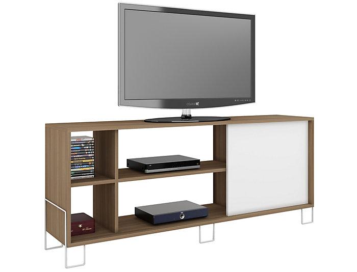 "Nacka 53"" Oak TV Stand, , large"