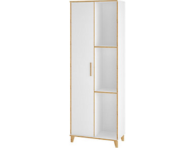 Greenwich White Storage Closet, , large
