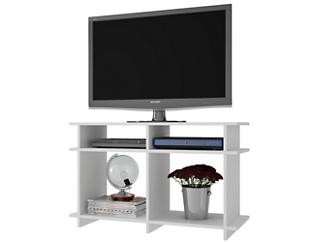 "Wellington 35"" White TV Stand, , large"