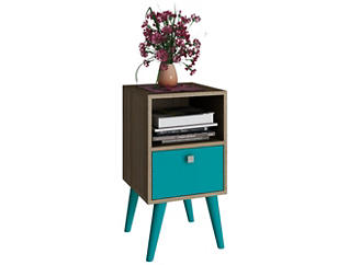 Abisko Aqua Side Table, , large