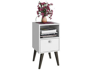 Abisko White Side Table, , large