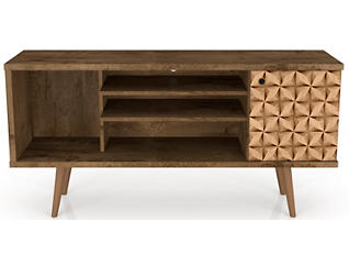 """Oslo 53"""" Brown TV Stand, , large"""