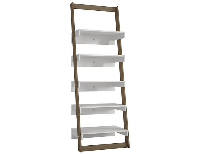 Carpina Oak Ladder Shelf, , large