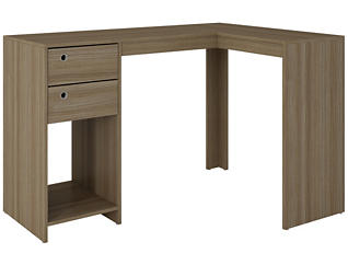 "Palermo Oak ""L"" Desk, , large"