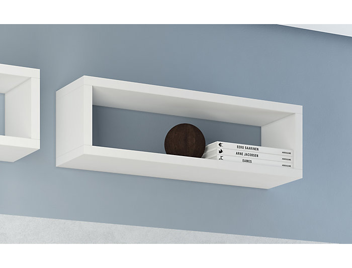 Tichla II White Shelf, , large