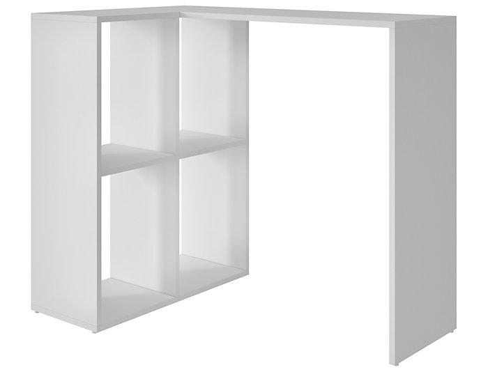 Pescara White Cubby Desk, , large