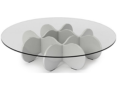 Waverly Coffee Table, White, , large