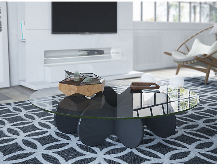 Waverly Coffee Table, Black, , large