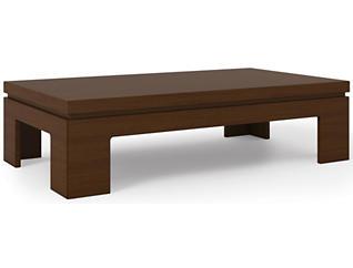 Modern Coffee Table, Brown, , large