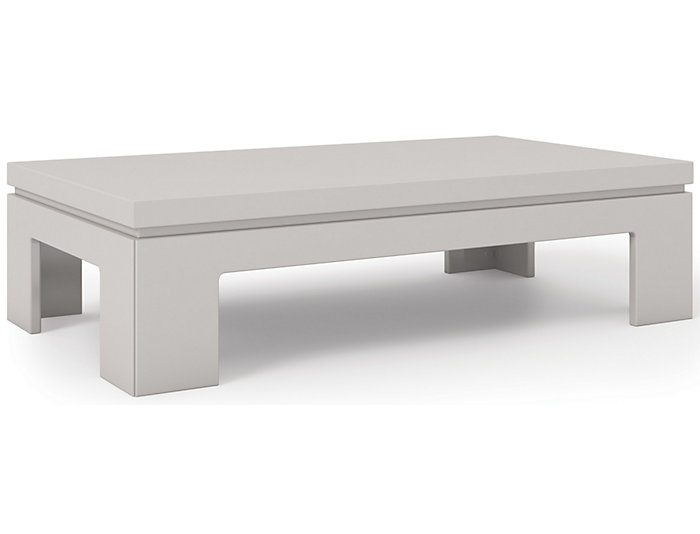 Modern Off Coffee Table, White, , large