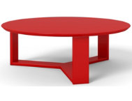 shop Round-Red-Coffee-Table