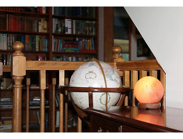 """7"""" Sphere  Himalayan Salt Lamp, , large"""