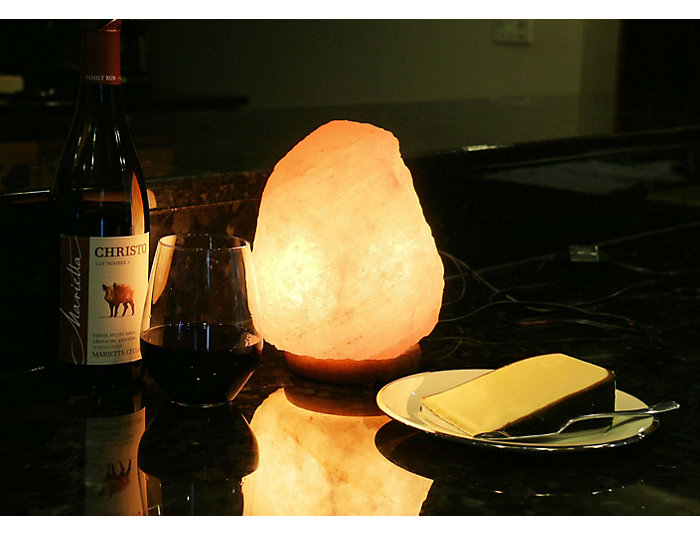 Small Himalayan Salt Lamp, , large