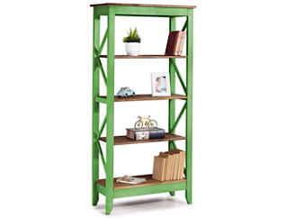 "Camden Green 65"" Bookshelf, , large"