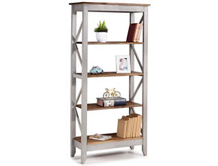 "Camden Grey 65"" Bookshelf, , large"