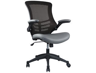 Intrepid Grey Office Chair, , large