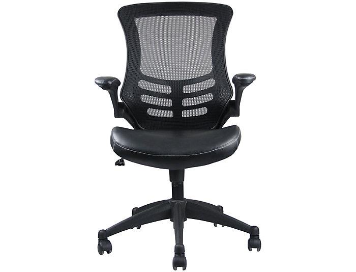 Intrepid Black Office Chair, , large