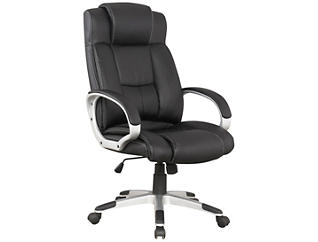 Washington Black Office Chair, , large