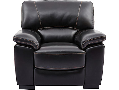 Andre Leather Chair, , large