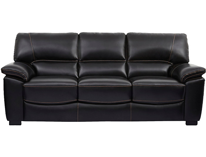 Andre Leather Sofa, , large
