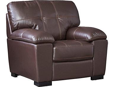 Ardon Leather Chair, , large