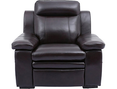 Baron Leather Chair, , large
