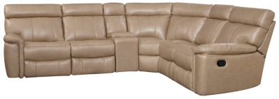 Bruno 7 Piece Reclining Sectional, Taupe, swatch