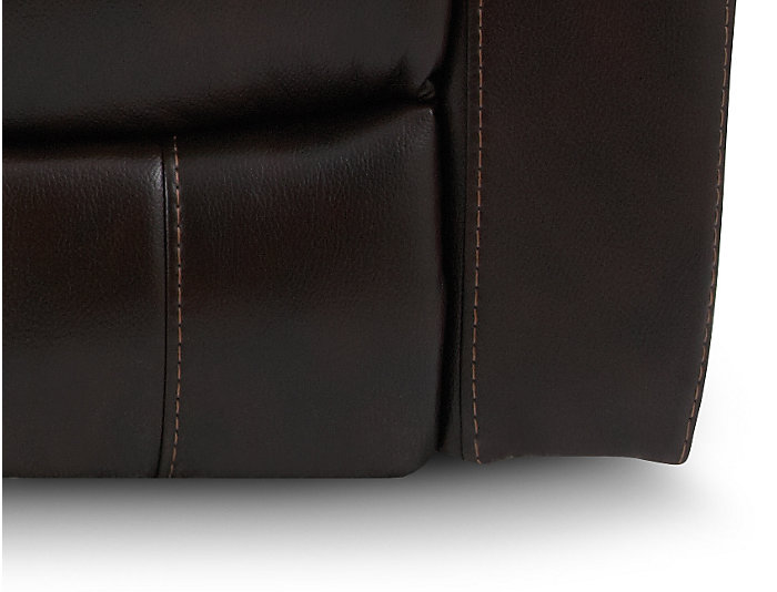 Darby Reclining Sofa, Brown, , large