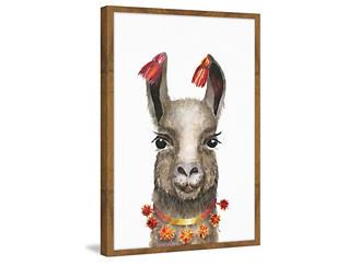 Hawaiian Llama Art Collection, , large
